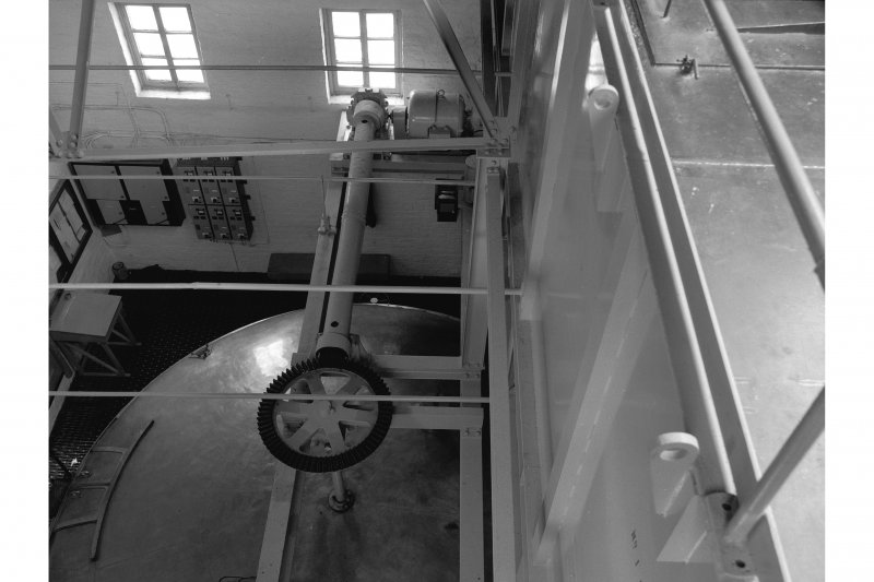 Falkirk, Rosebank Distillery; Interior View of mash tun