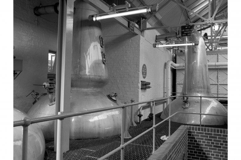 Falkirk, Rosebank Distillery, Stillhouse; Interior General View