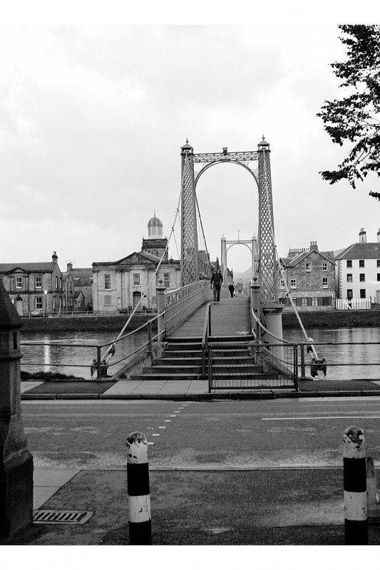 Inverness, Church Lane, Suspension Footbridge General View