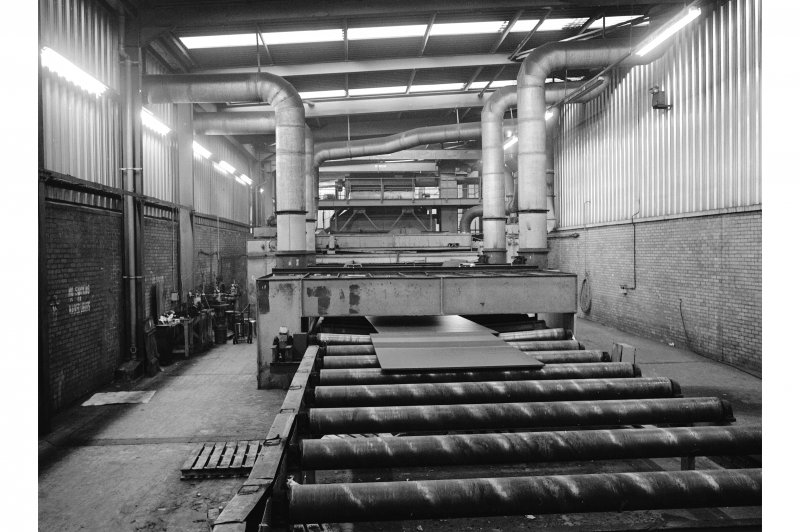 Glasgow, 1048 Govan Road, Fairfield Shipbuilding Yard and Engine Works, Interior View showing plate preparation