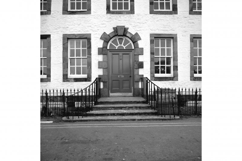 Inveraray, Front Street, House View from NNE showing doorway