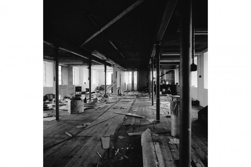 Interior. View of first floor.