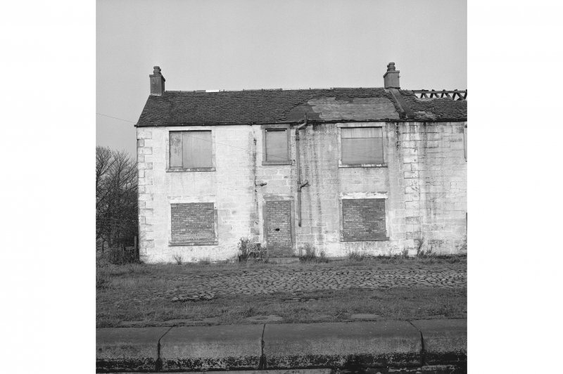 Castlecary, Forth and Clyde Canal Stables View from SSE showing SSE front of W stable