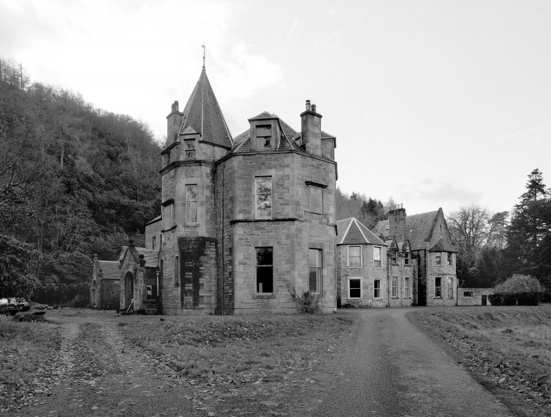 Inverailort House, view from NW.