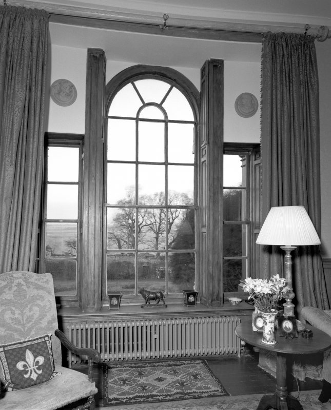 Detail of 1st floor drawing room venetian window