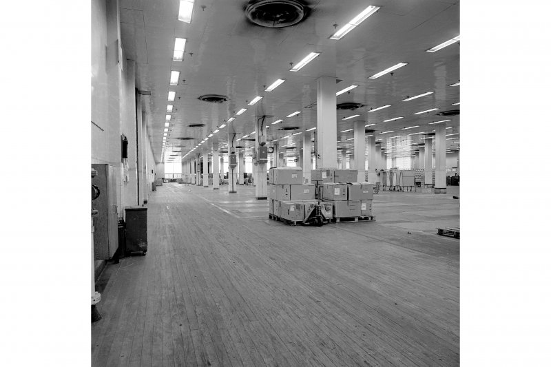 Paisley, Ferguslie Thread Mills, No. 3 Spinning Mill; Interior Looking E along 1st flat of mill