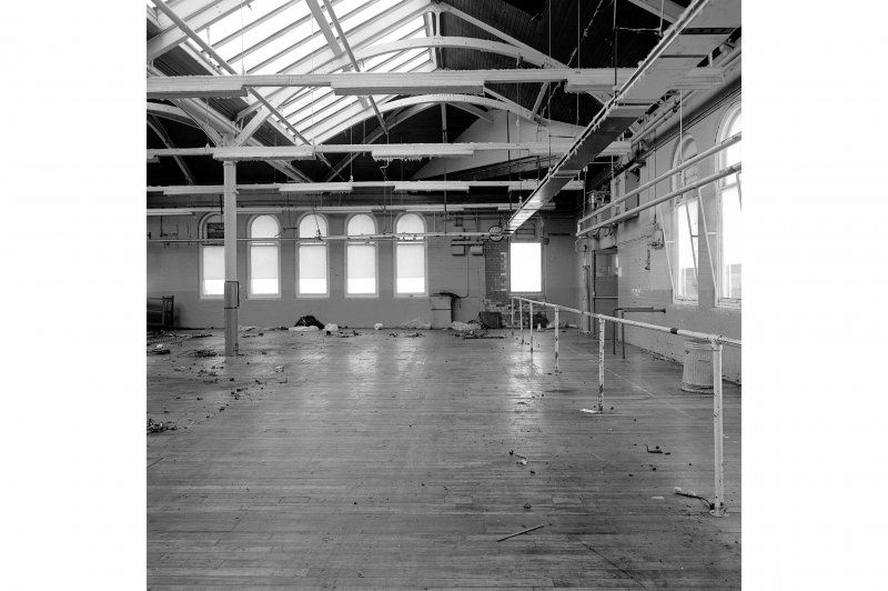 Paisley, Ferguslie Thread Mills, Mill No.1, 5th Flat; Interior Looking ESE from S corner of 5th flat