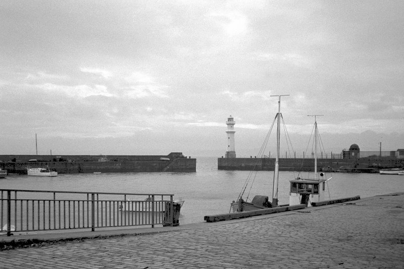 Newhaven, Harbour. View from South East.