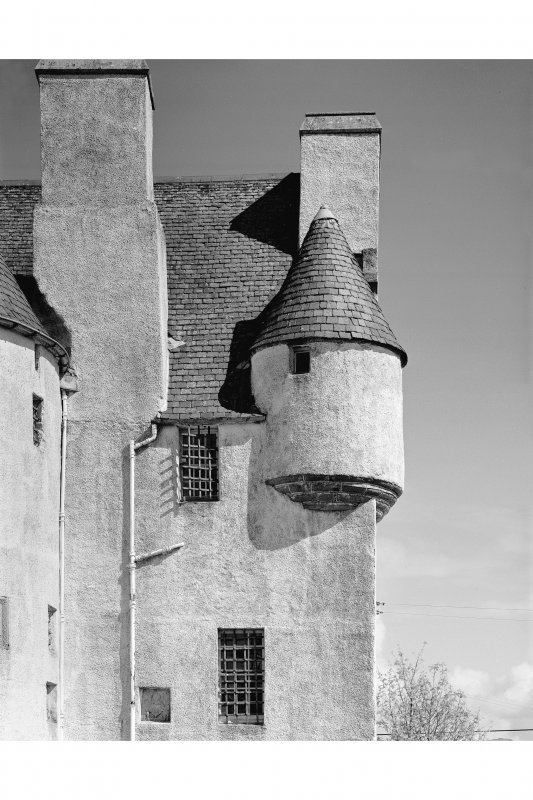 Barcaldine Castle Detail of south-west angle-turret