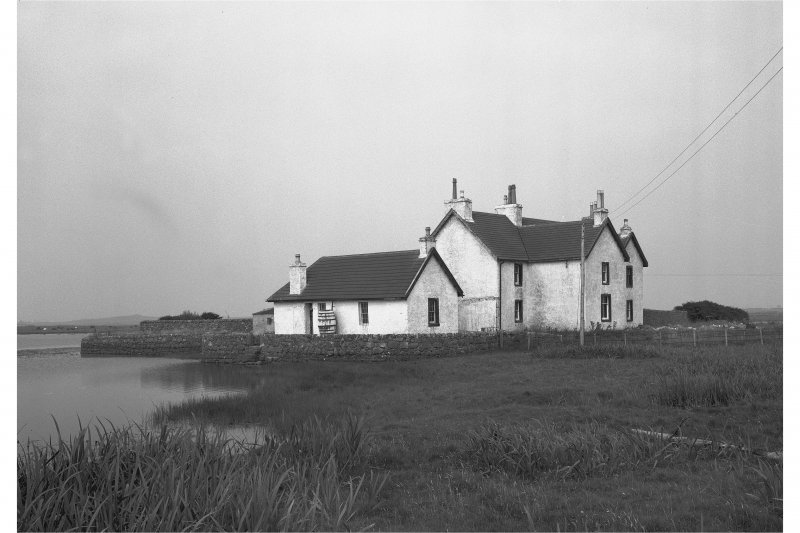 Tiree, Island House. General view from South-West.