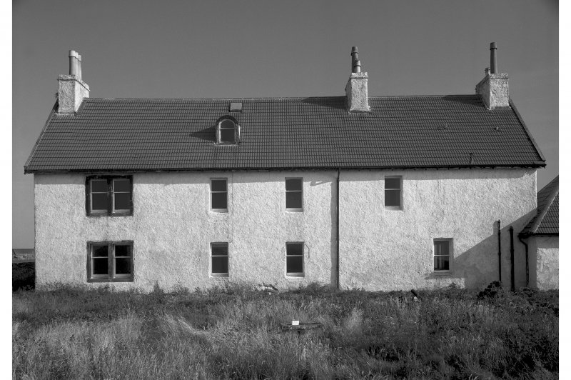 Tiree, Island House. General view from North.