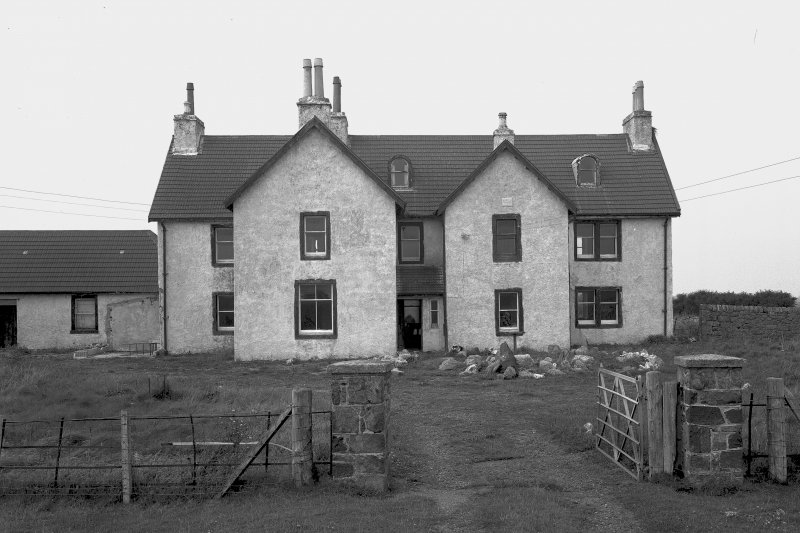 Tiree, Island House. General view from South.