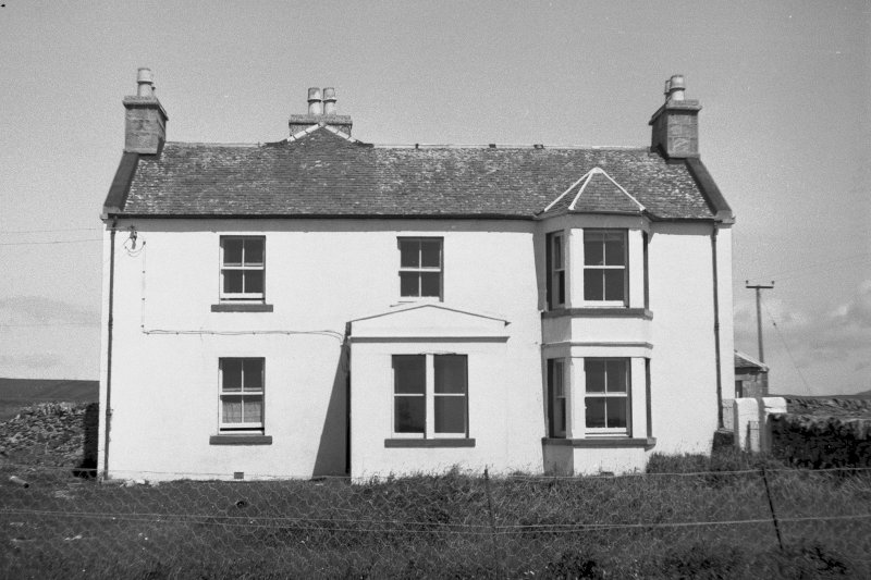 Old Manse, Portnahaven, Islay. General view from rear.