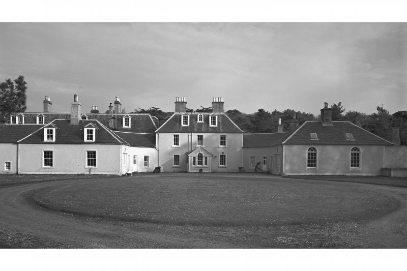 Colonsay, Colonsay House. General view of principal elevation.