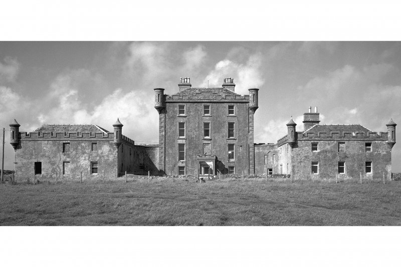 Coll, Breachacha House. General view from South.