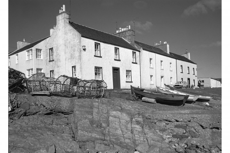 Sraid A' Chladaich, Port Charlotte, Islay. View from South East.