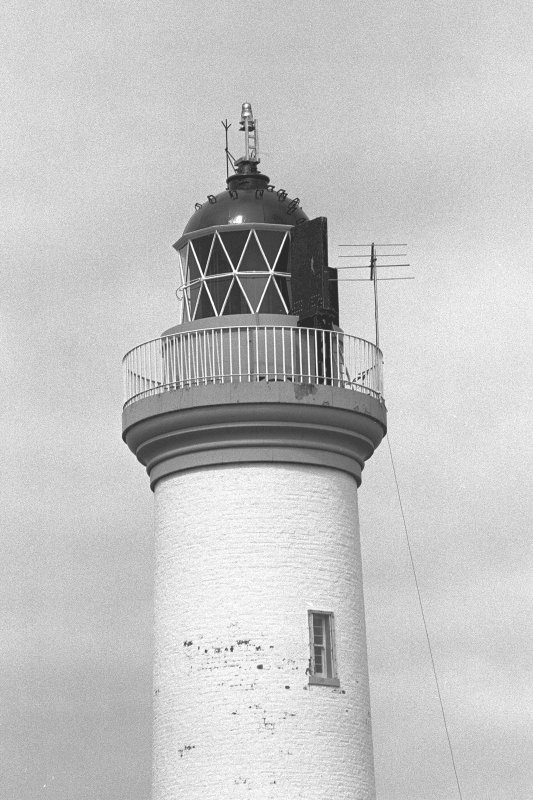 Ruvaal Lighthouse, Islay. Detail of lantern.
