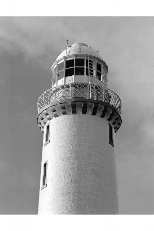 Detail of tower, Eilean Musdile Lighthouse, Lismore.