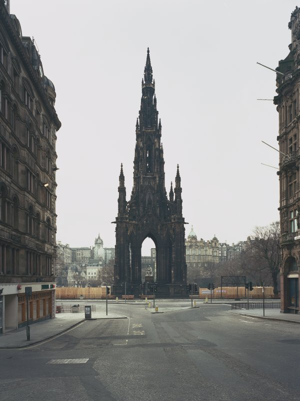 View of Scott Monument from north