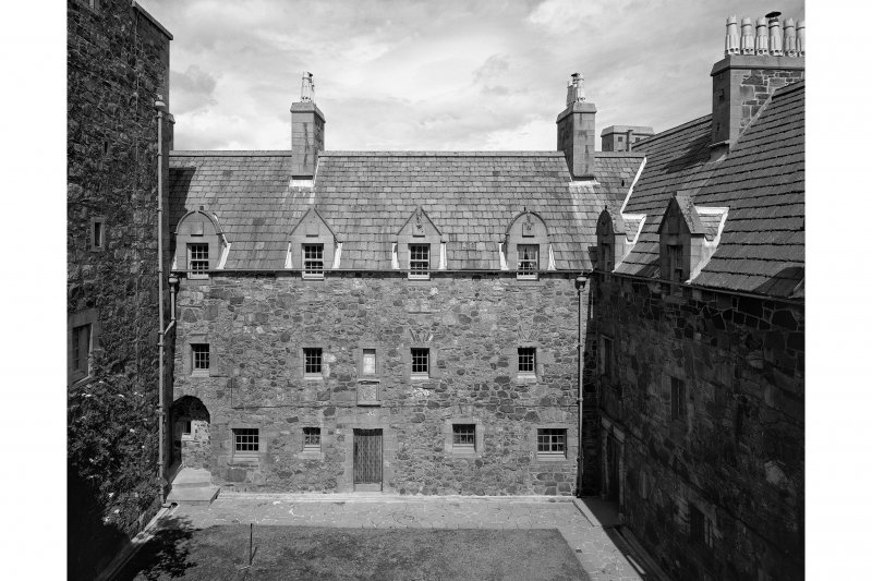 View of courtyard from South West Plate 62B