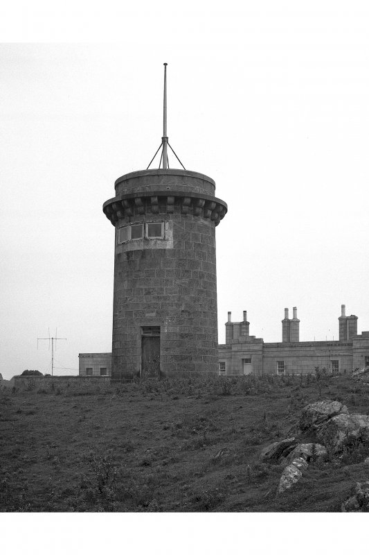 Tiree, Hynish, Signal Tower. View from North-East.
