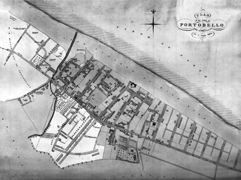 Edinburgh, Portobello, General Plan.