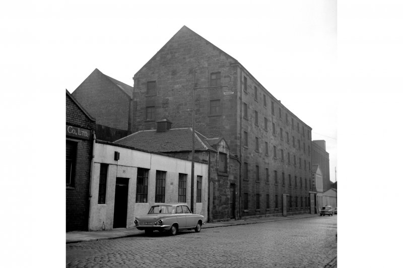 Glasgow, Cheapside Street, Grain Mill General View