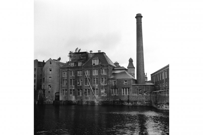 Edinburgh, Quayside Street, Quayside Mills General View