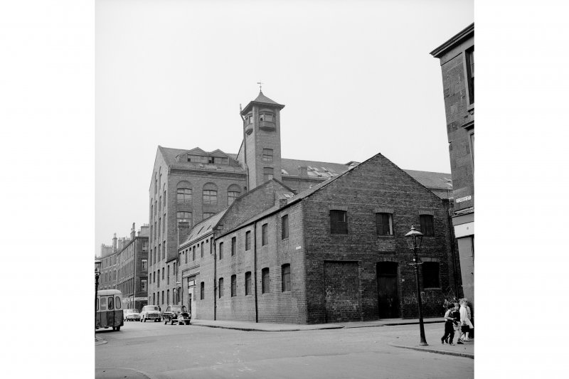 Glasgow, 30 Wesleyan Street, Victoria Bread and Biscuit Works View from SE showing SSW front and part of ESE front