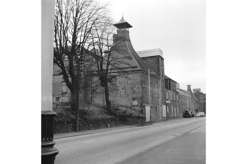 Linlithgow, Edinburgh Road, St Magdalene's Distillery View of E distillery building; W building in background. From E