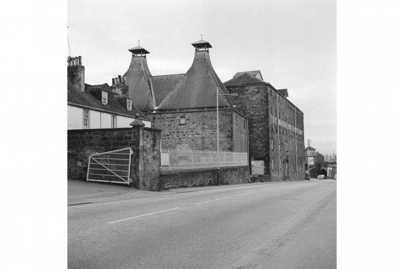 Linlithgow, Edinburgh Road, St Magdalene's Distillery View of W distillery buildings; from E