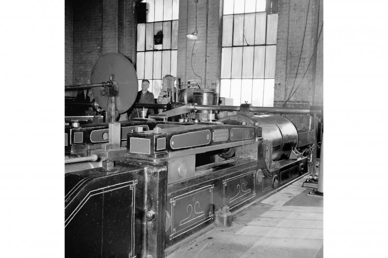 Cardowan Colliery, Interior View showing winding engine