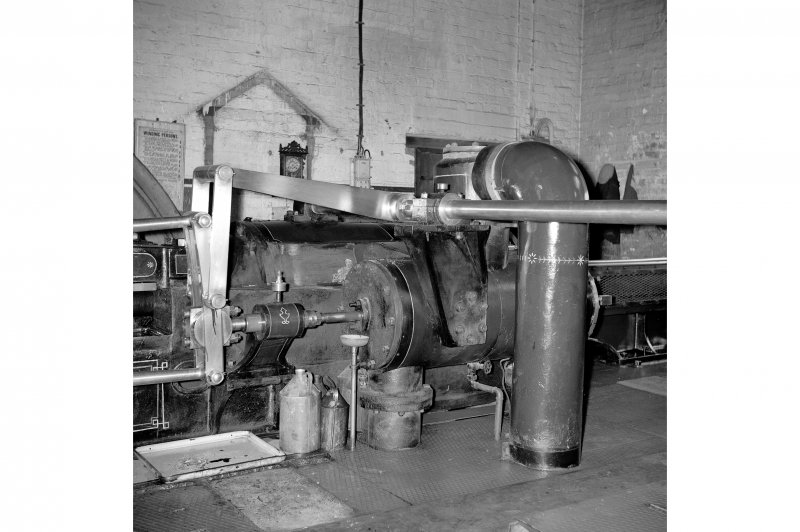 Cardowan Colliery, Interior View showing winding engine (1)