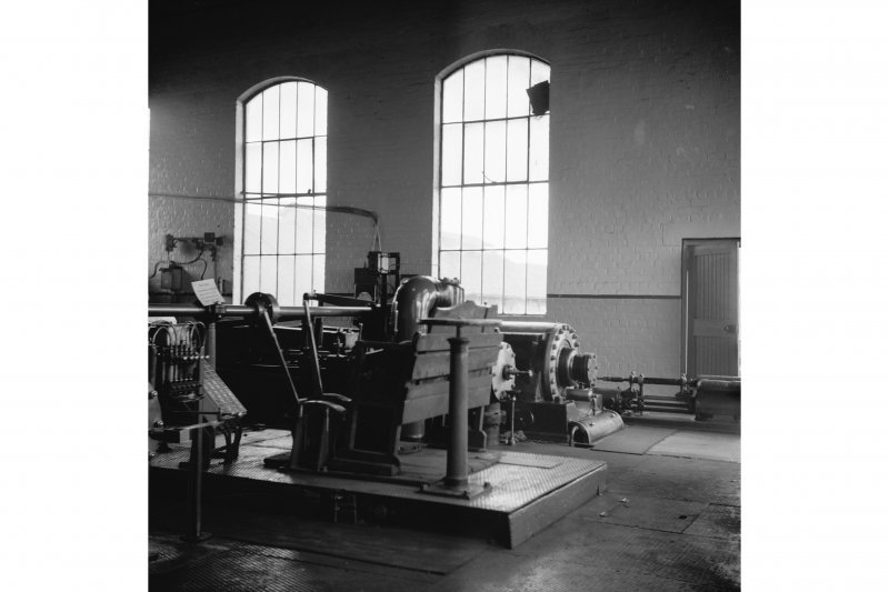 Cardowan Colliery, Interior View showing winding engine (2)