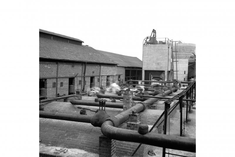 Cardowan Colliery View showing boiler plant