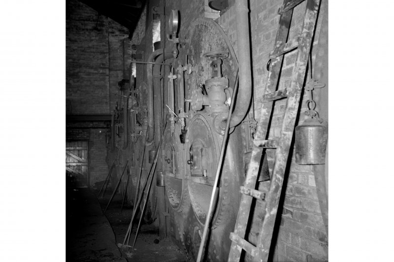 Cardowan Colliery, Interior View showing boiler plant