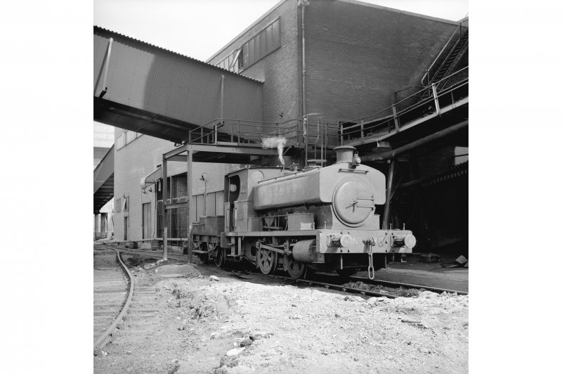 Cardowan Colliery View showing Grant Ritchie 040ST 805, 1918 with works building in background