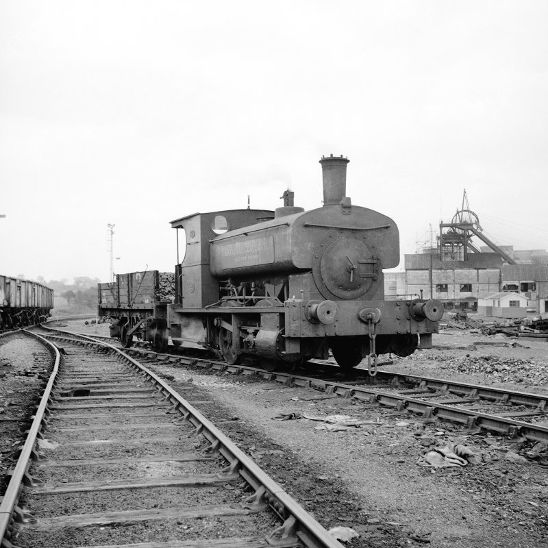 Cardowan Colliery View showing Gibb and Hogg 040ST, 1898 with works buildings in background