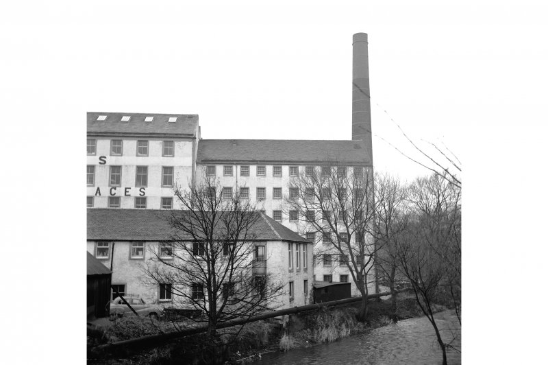 Johnstone, Johnstone Mill View of older end of original Paton's thread mill