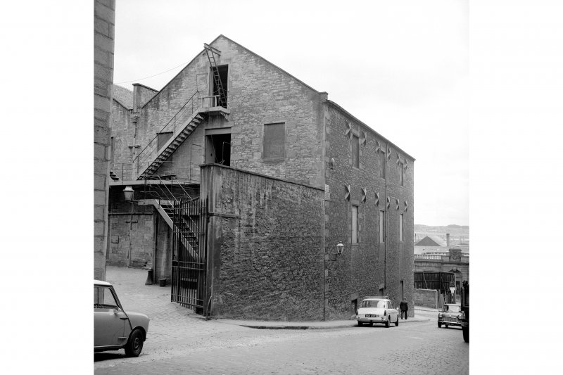 Dundee, Constable Street, Jute Warehouse View from NW showing WSW front and part of NNW front