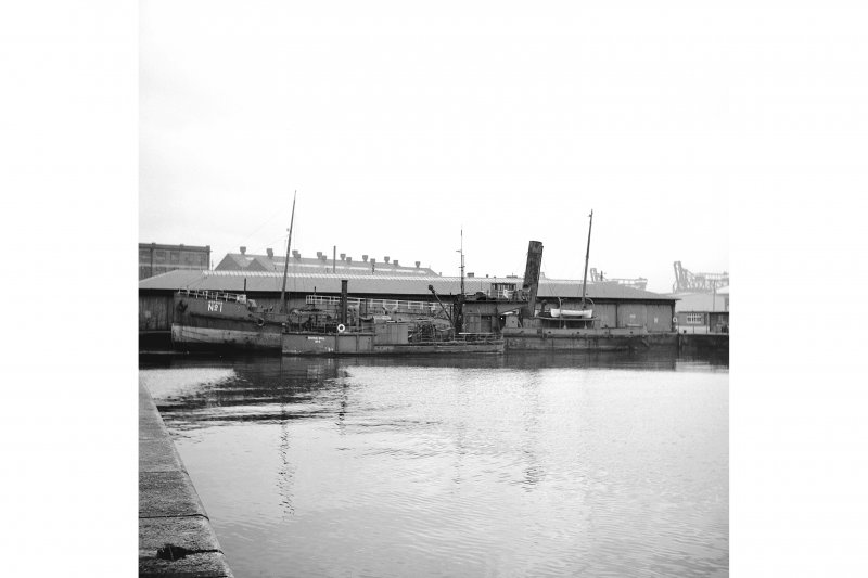 Glasgow, Queen's Dock View of Hopper No.1 and diving bell