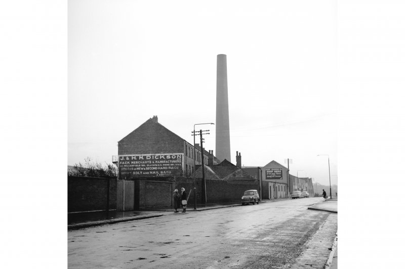 Glasgow, Springfield Road, Springfield Dyeworks General View