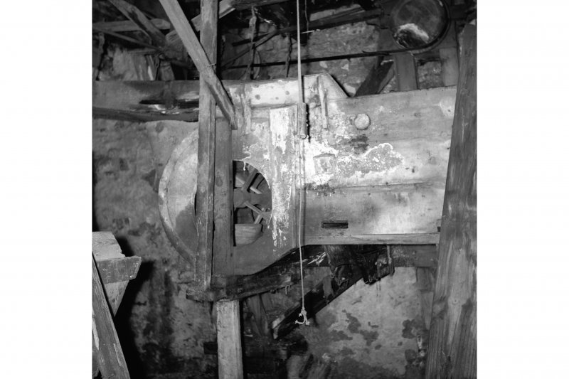 Meikle Millbank Mill; Interior View of fanner
