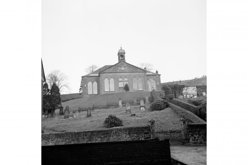 Catrine Parish Church View of frontage, from S