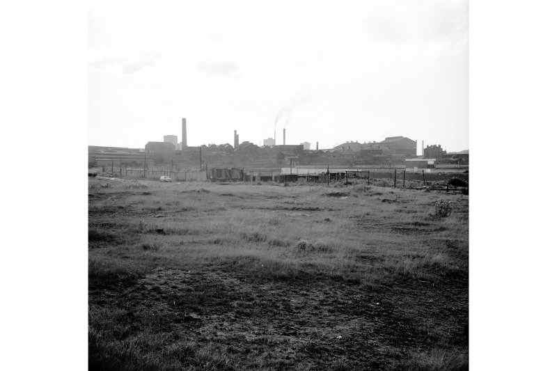 Glasgow, Glasgow Road, Shawfield Chemical Works Distant view