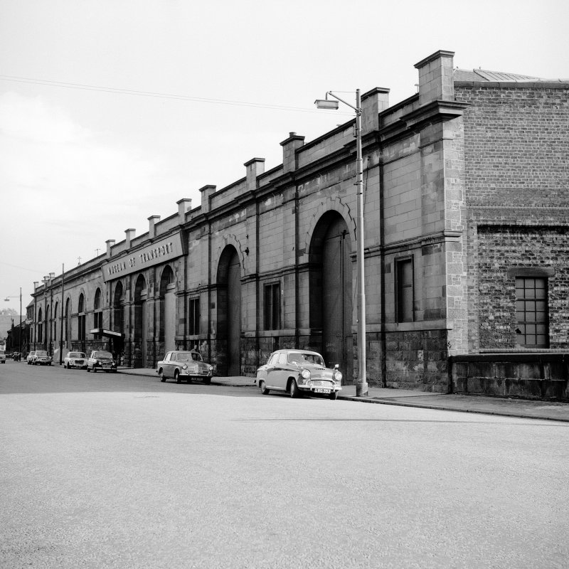 Coplaw Tram Depot View from NW showing NNE front (Albert Drive front)
