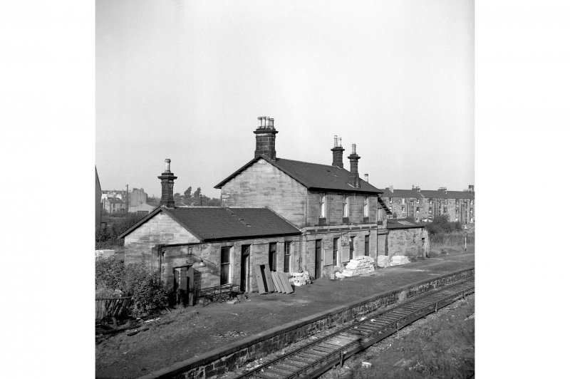 Paisley, Abercorn Station View from E showing NE front