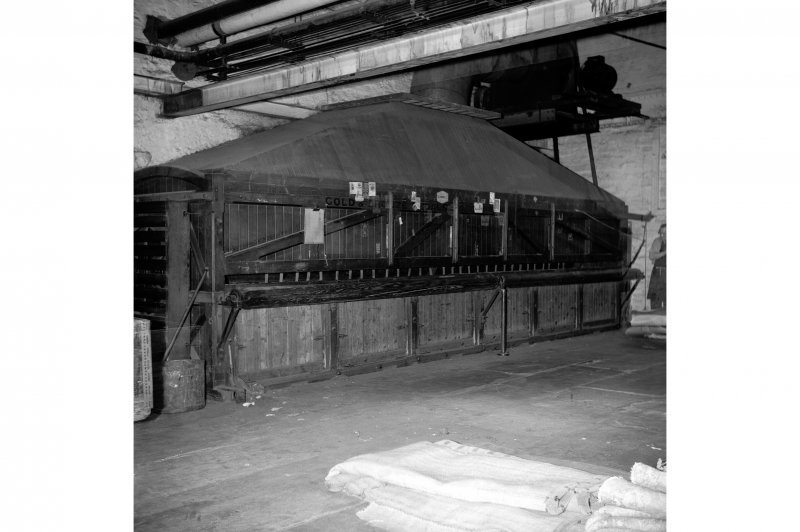 Perth, 1 Mill Street, Pullar's Dyeworks, Interior View showing carpet beating machine