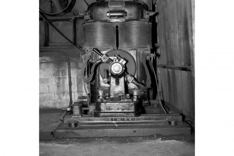 Perth, 1 Mill Street, Pullar's Dyeworks, Interior View showing old type electric motor