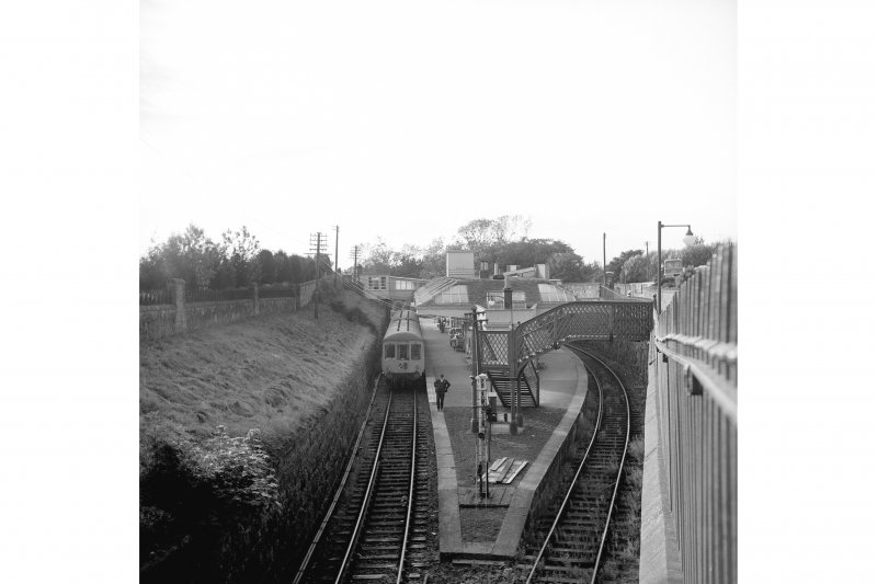 View from SE of St Andrews Station. It was closed in 1969.